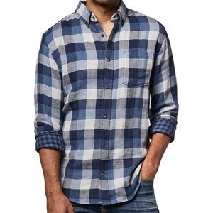 Other - Denver Hayes Double Layer Untucked Shirt